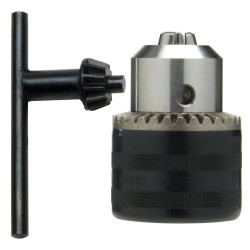 Portabrocas Con Llave 13 mm. 3/8 Hembra