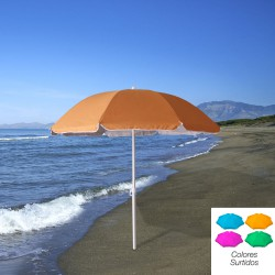 Sombrilla Playa Proteccion UV Aluminio 200 cm.