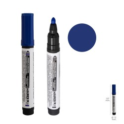 Rotulador Permanente Profesional Azul