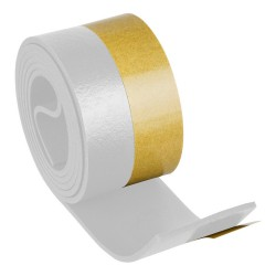 Burlete Umbral Autoadhesivo PVC Flexible Blanco