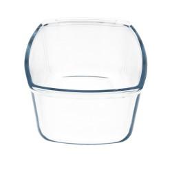 "Placa Adhesiva Baño ""Mujer"" Acero Inoxidable Ø 7 cm."