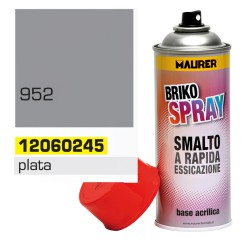 Spray Pintura Plata 400 ml.