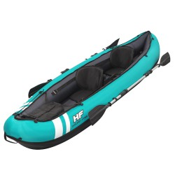Kayak 330x86 cm. con Asientos, Remos  y Bomba hasta 2 personas.
