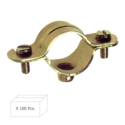 Abrazadera Metalica M-6   28 mm. (Caja 100 piezas)