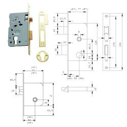 Disco Lija Hierro 125x22 mm. Grano 100 (Paquete de 25 unidades)